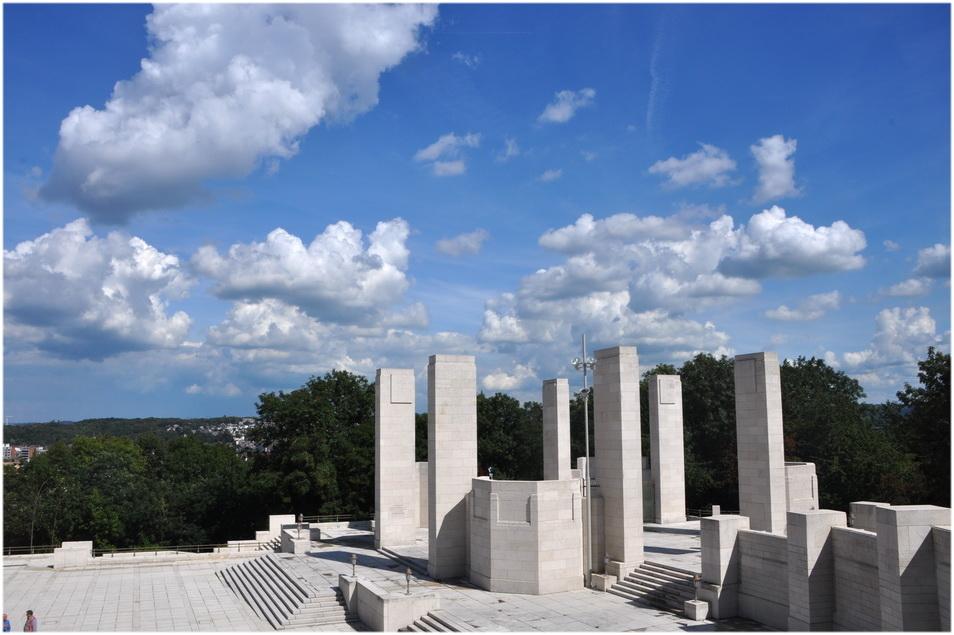 Liège. Cointe. Le monument Interalliés. 2