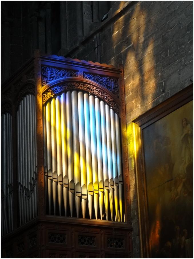 Lumière dans la cathédrale