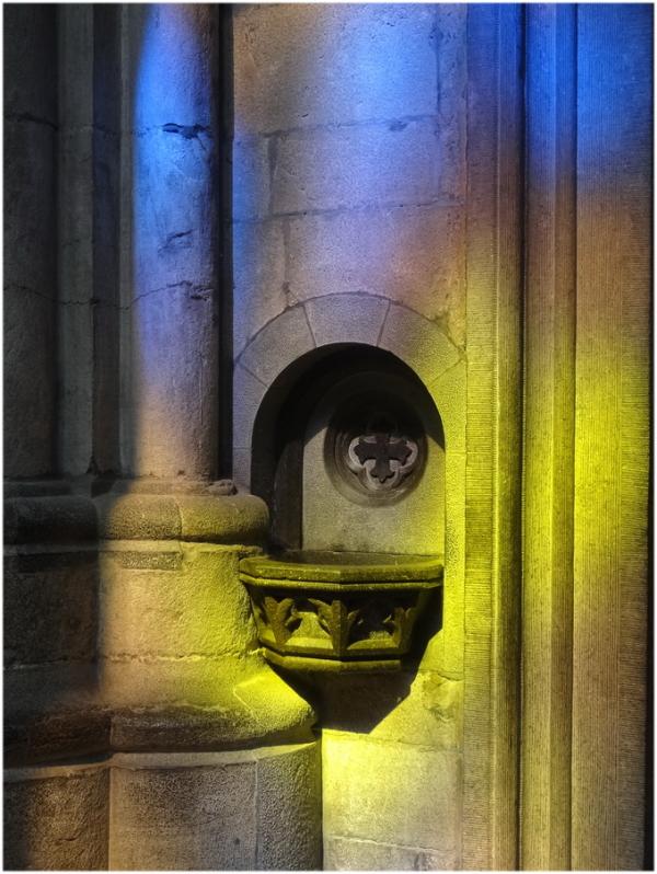 Lumière dans la cathédrale 2