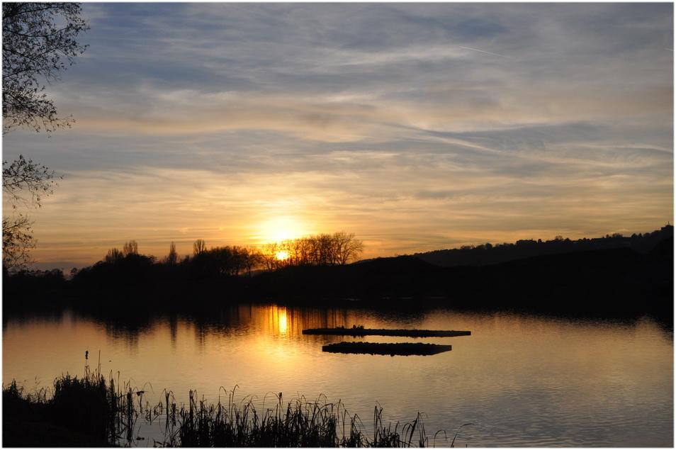 Derniers rayons sur la Meuse