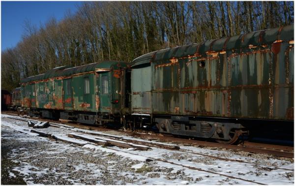 La gare abandonnée.