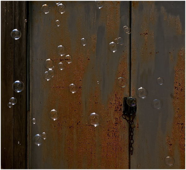 time and bubbles and rust