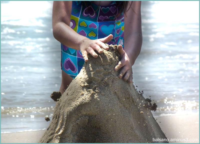 sandcastle construction
