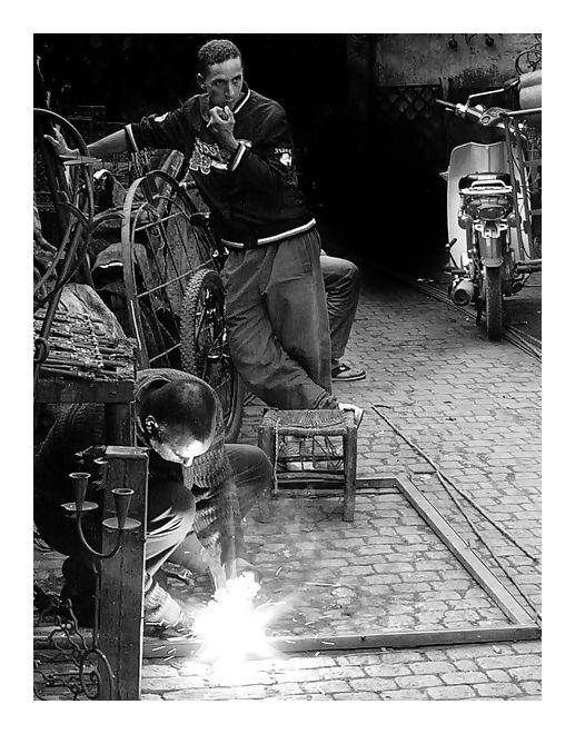 Quartier des Ferrailleurs à Marrakech