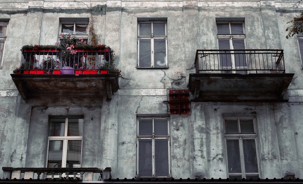 warsaw ghetto varsovie balcon balcony