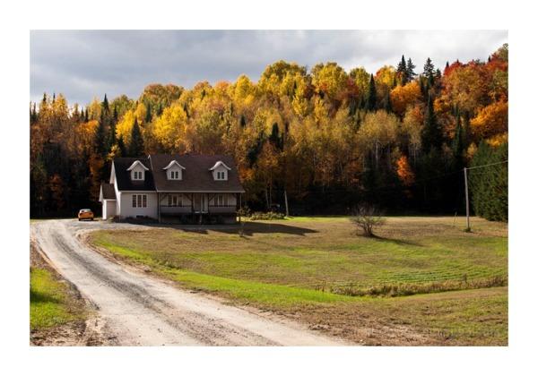 Quebec Canada Parc Autumn