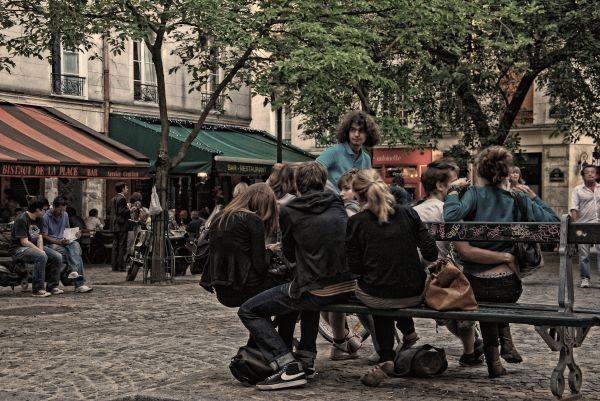 The Square 1/3  The Huddle