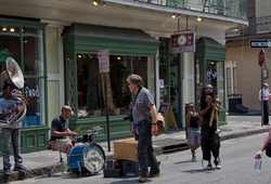 Music In The Streets Of New Orleans 2/3