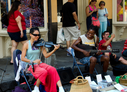 Music In The Streets Of New Orleans 1/3