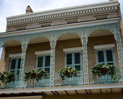 The French Quarter Balconies 3/4