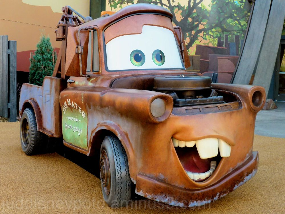 Jud, Disney, Art of Animation Resort, Tow Mater