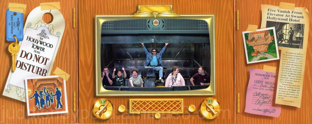 Jud, Disney, Tower of Terror