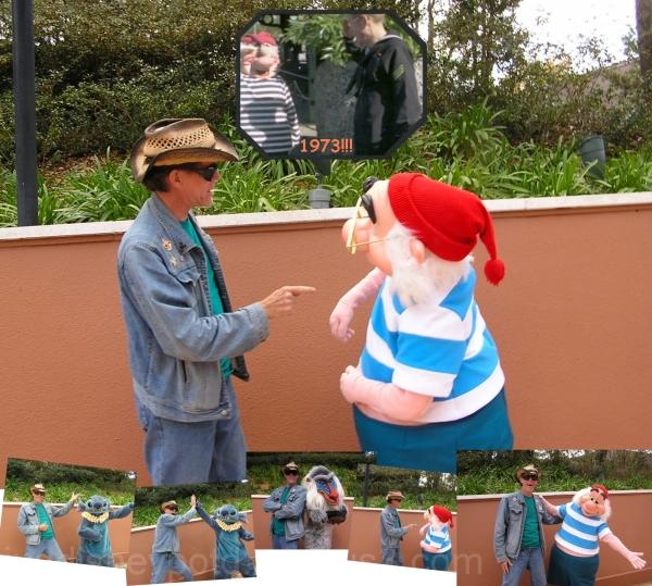 Jud, Disney, EPCOT, characters