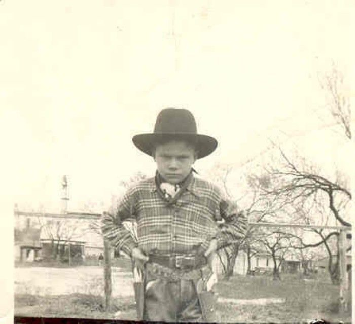 Young Outlaw At the Pyron Settlement, Texas, 1940