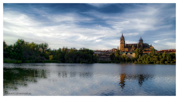 The river of my life ,    ( Rio Tormes ,Salamanca)
