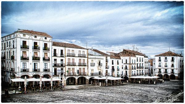 La Plaza de Carmen, (Cáceres)