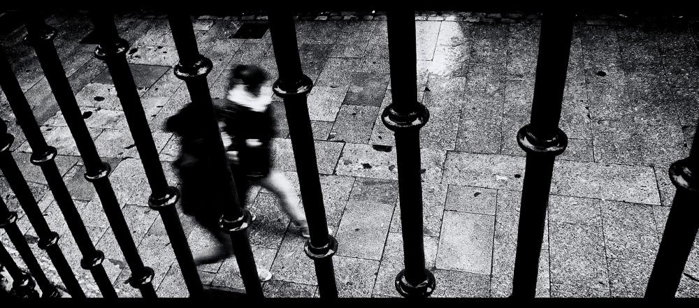 black and white street VIII