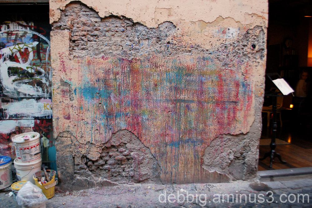 Rome wall painting