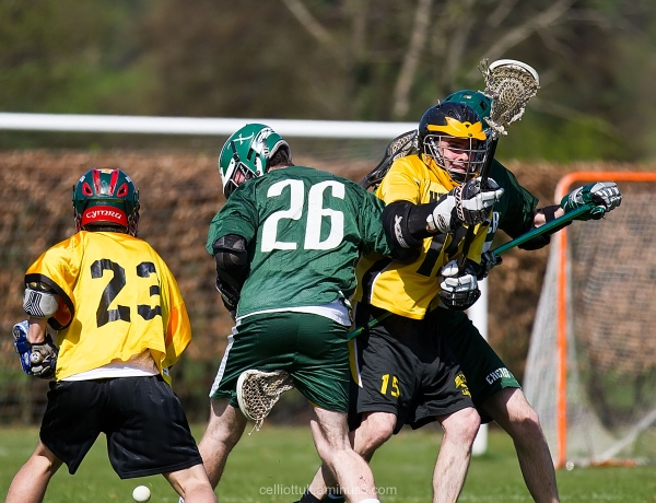 Lacrosse - ouch! - ST