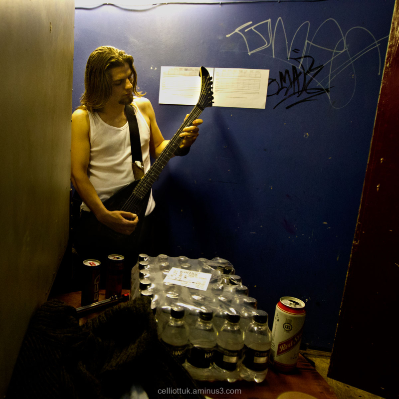 Before the gig - 3