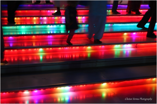 Stairs so colorful