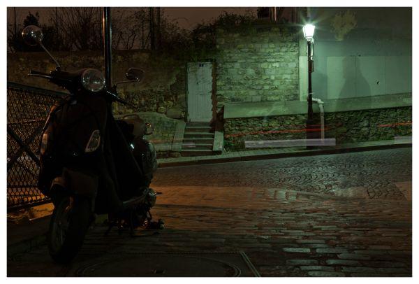 Les ombres de Montmartre