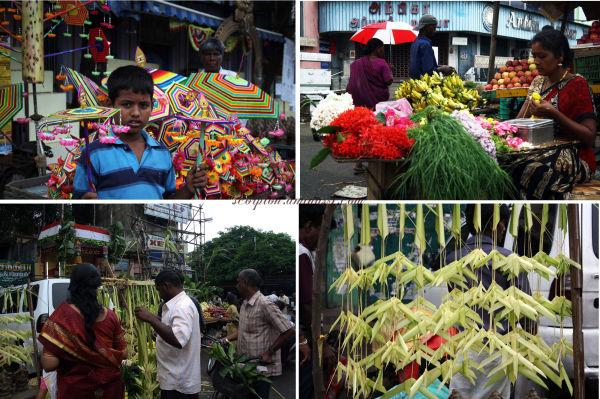 Mylapore Market, Chennai...on Ganesh Chathurthi.
