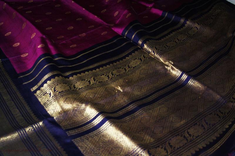 """Kancheepuram "" Silk Saree ..."