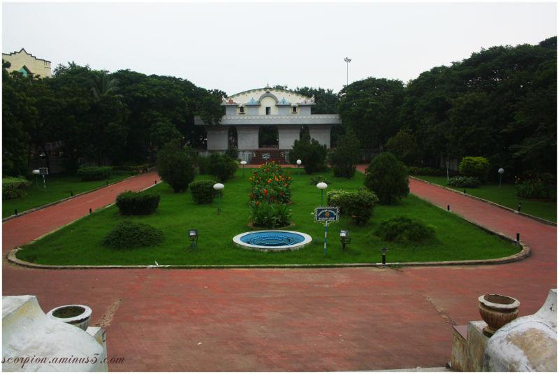 View from Entrance of Valluvar Kottam, Chennai
