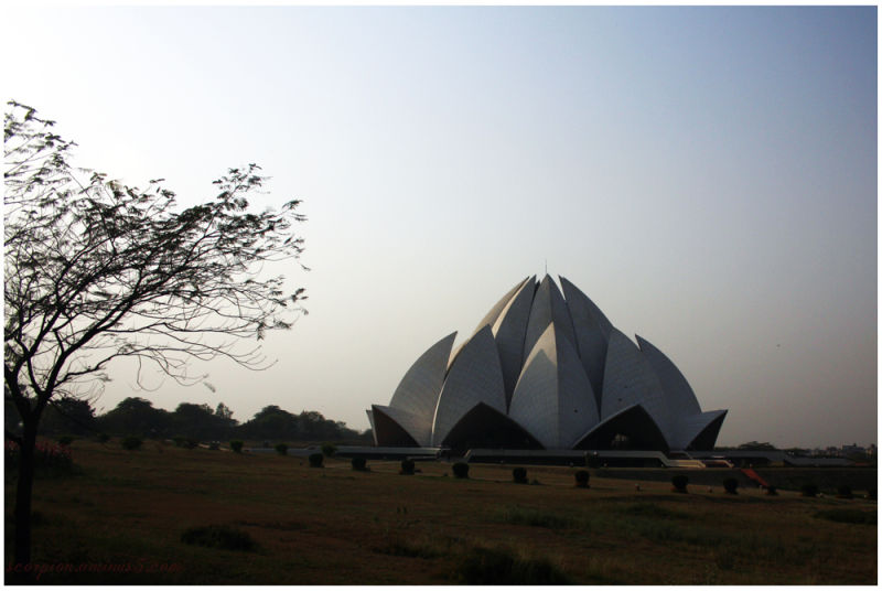 Lotus Temple, New Delhi.