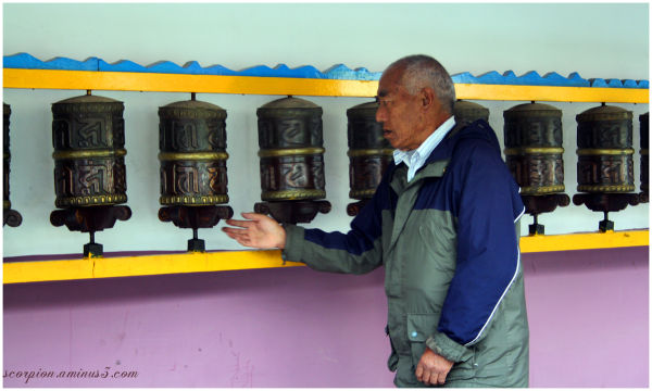 Prayer Wheels @ Buddhist Temple, Manali