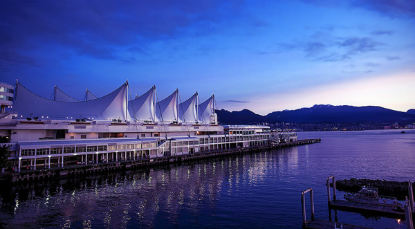Sunrise at Canada Place