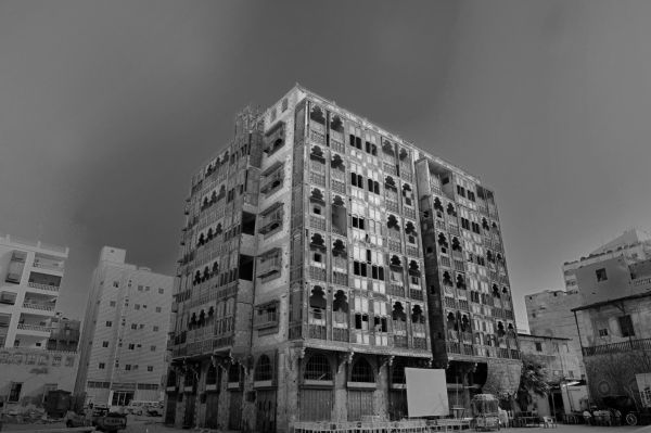 old building at jeddah historic distric