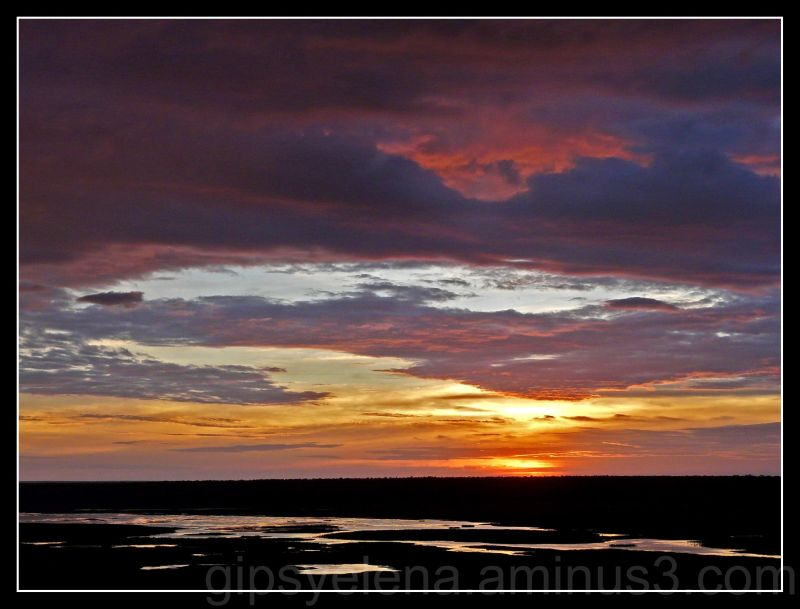 ..Sunset in Kakadu..