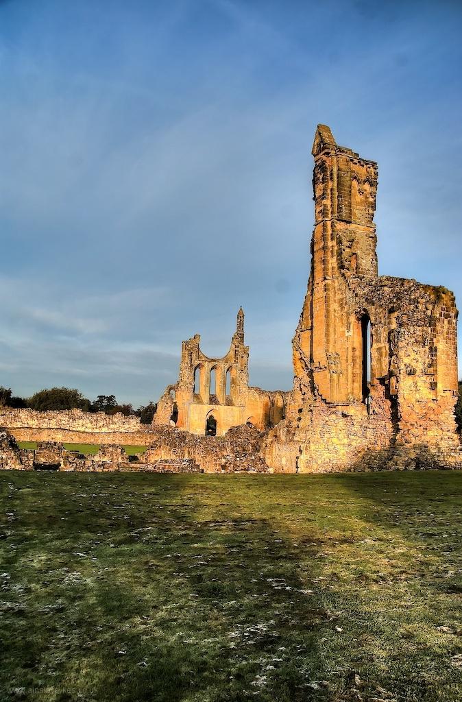 Byland, Abbey, North Yorkshire, English Heritage,
