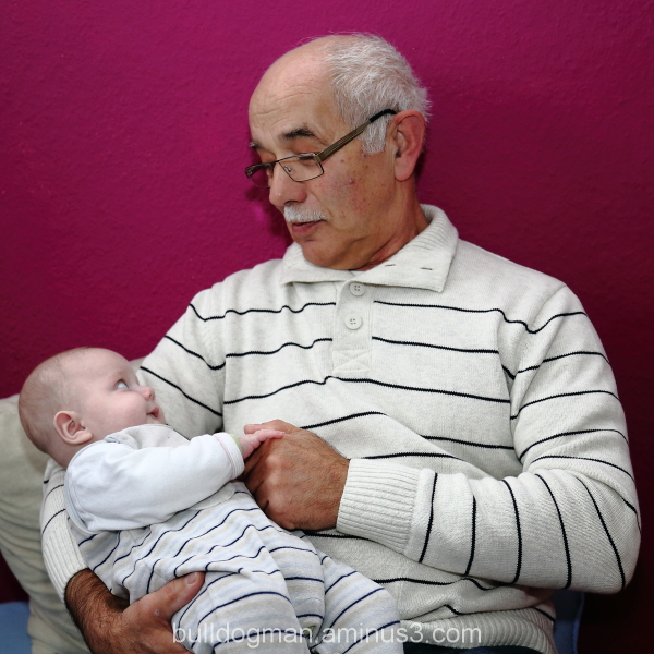 child with great grandfather