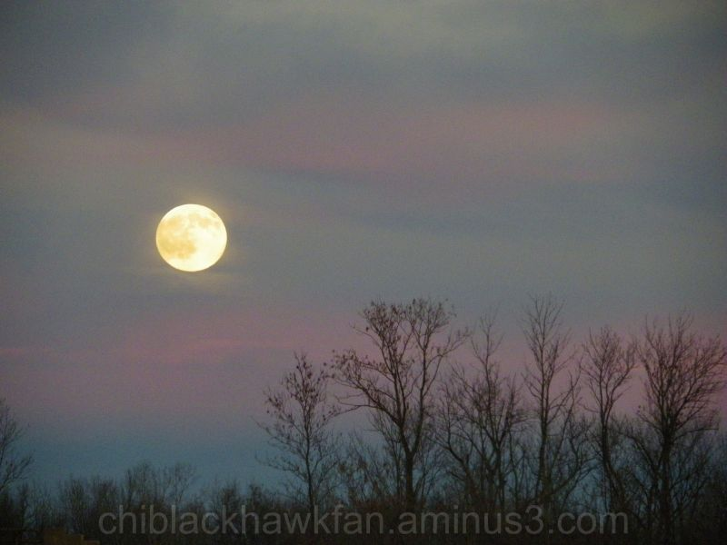 Moonrise over Central New York