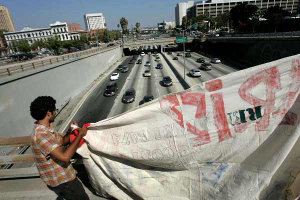 Freeway Protest