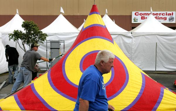 Ventura County Fair Setup