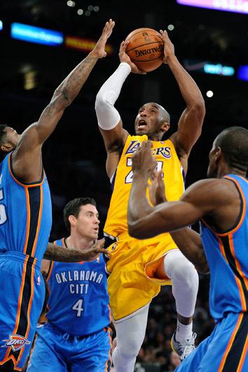 Kobe vs the Thunder