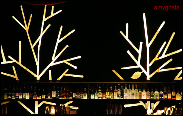 bar, lights