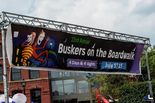 Buskers on the Boardwalk 2012