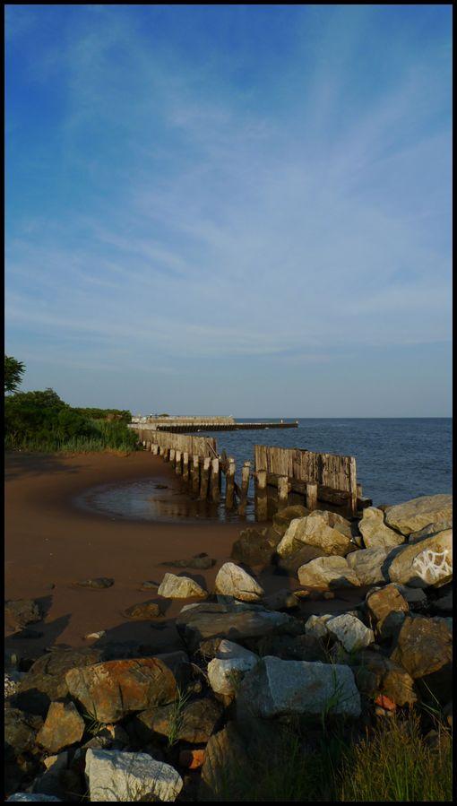 Beach, Rock, Sand, Water, graffiti, shore