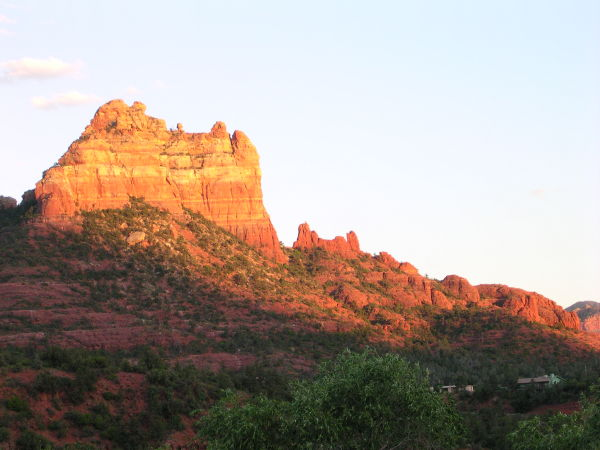 The red rocks of Sedona, AZ.