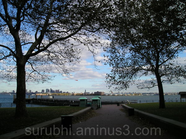 View of Manhatten from Liberty Island