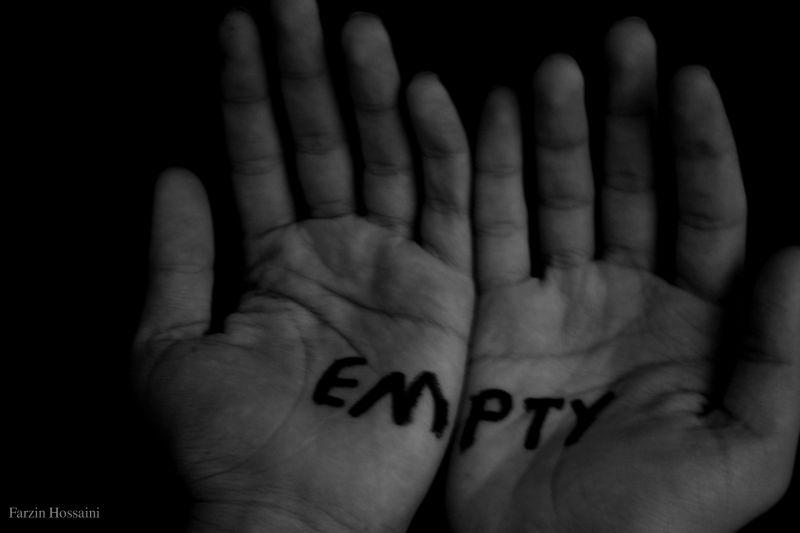 Empty . . .