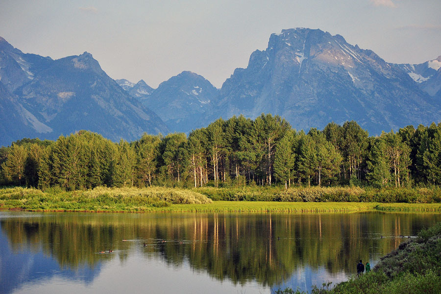 Grand Teton of Yellowstone Park