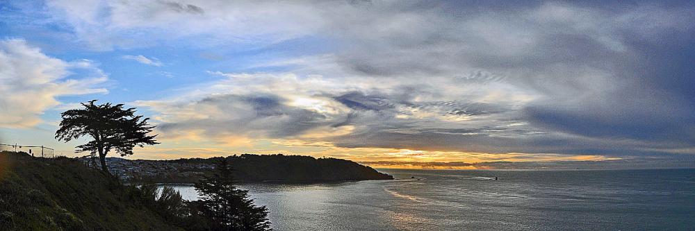 Sunset of Panorama