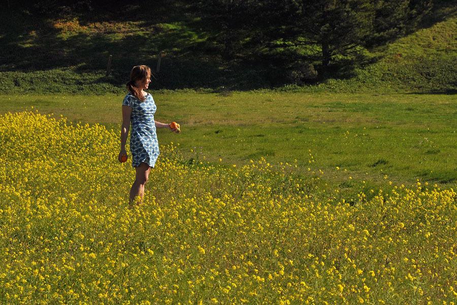 Beauty in a field of flowers