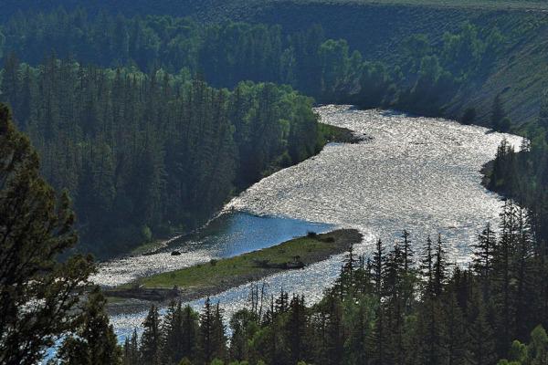 The Snake River at Grand Teton